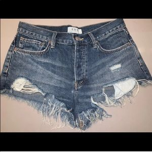 Free People shorts med rise size 27 unworn